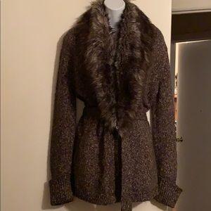 Express Mohair Cardigan Sweater